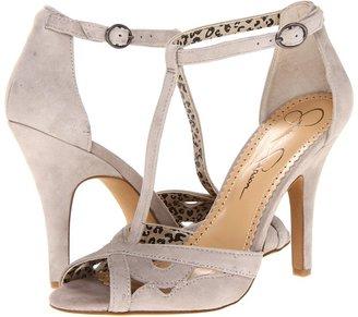 Jessica Simpson Jeraldine (Elephant Kid Suede) - Footwear