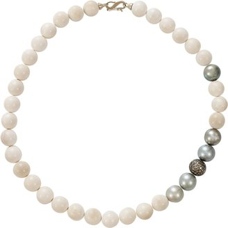 MONIQUE PEAN Woolly Mammoth Tahitian Pearl Necklace