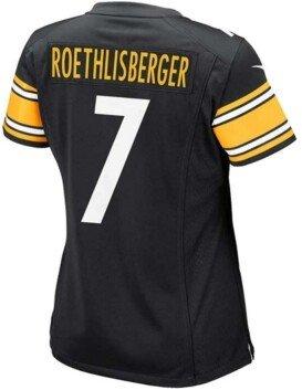 Nike Women's Ben Roethlisberger Pittsburgh Steelers Game Jersey
