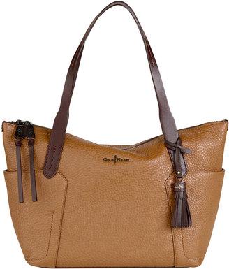 Cole Haan Parker Small Zip-Top Shopper Bag, Tan