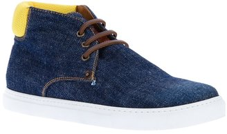 DSquared DSQUARED2 denim lace-up sneaker