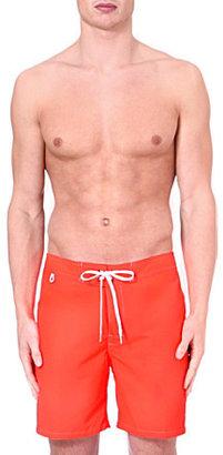 Sundek Fixed waistband swim shorts