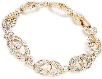 Carolee Champagne Toast Crystal Bracelet