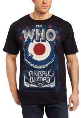 Liquid Blue Men's The Who Pinball Wizard T-Shirt