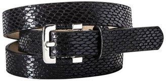 Merona Textured Career Belt - Black