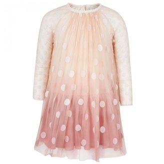 Stella McCartney Pink Polka Dot Dress