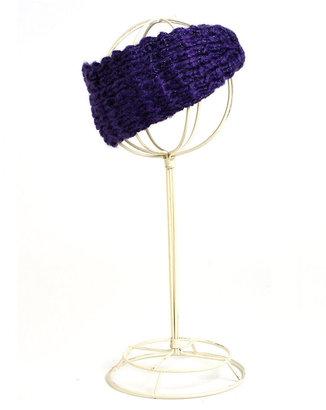 Steve Madden Knit Glitter Headband