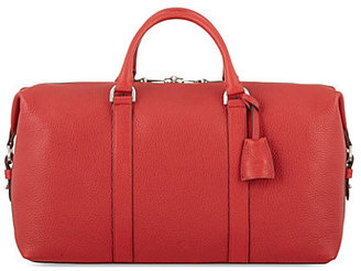 Mulberry Soft-grain leather clipper holdall