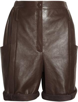 Chloé Leather shorts