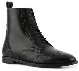 Ralph Lauren Brenly Leather Wingtip Bootie