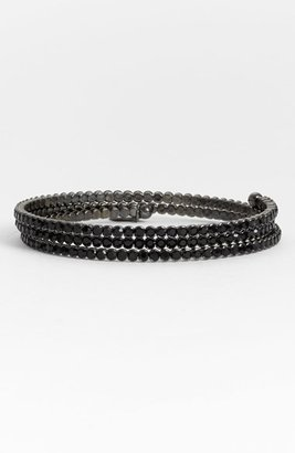 Cara Accessories Crystal Coil Bracelet