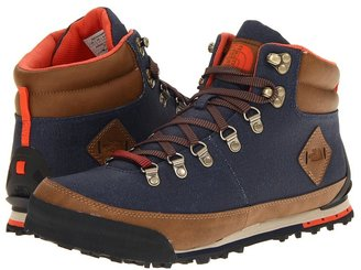 The North Face Back-To-Berkeley Boot Canvas (Cosmic Blue/Rare Earth Brown) - Footwear