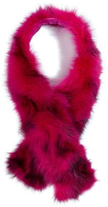 Steffen Schraut Raccoon Fur Scarf in Turmalin