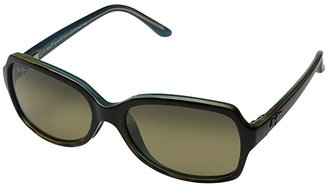 Maui Jim Cloud Break (Tortoise/Peacock Blue/HCL Bronze) Fashion Sunglasses