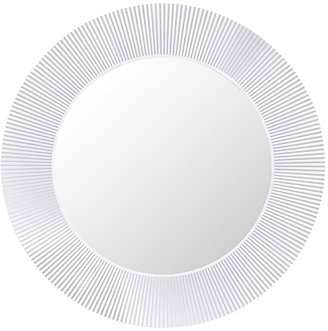 Kartell All Saints Round Mirror - Crystal