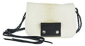 Kelsi Dagger Leather Spencer Embossed Python Crossbody $37.80 thestylecure.com