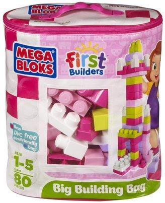 Mega Bloks First Builders Pink Non-Woven (80 pcs)