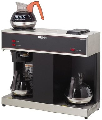 Bunn-O-Matic 12-Cup Pourover Commercial Coffee Brewer with 3 Warmers