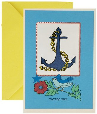 Rosie Wonders Tattoo Anchor Card - Multi