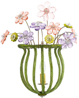 Bouquet of Flowers Sconce