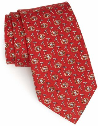 Vineyard Vines San Francisco 49ers Print Tie