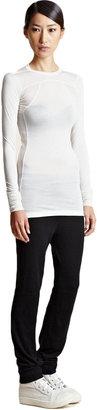 Rick Owens Women's Long Sleeve Silk Top