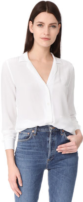 Equipment Adalyn Blouse $218 thestylecure.com