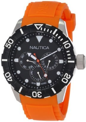 Nautica Unisex N13646G NSR 101 Multi- South Beach Classic Analog with Enamel Bezel Watch $93 thestylecure.com