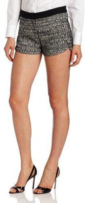 Robert Rodriguez Women's Raffia Tweed Short