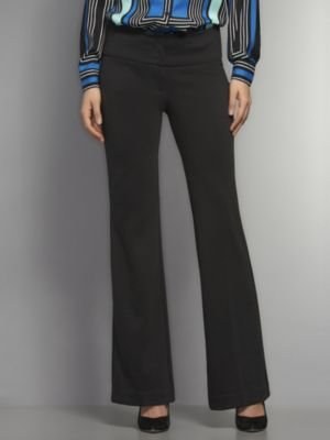 New York & Co. The CityKnit Collection Luxe Stretch Trouser Straight Leg Pant