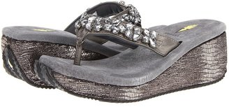 Volatile Frosted (Pewter) - Footwear