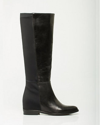 Le Château Italian-Made Leather Over-the-Knee Boot