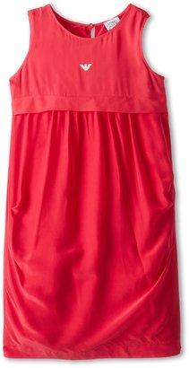 Armani Junior Dress (Big Kids) (Light Red) - Apparel