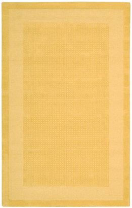 "Nourison Area Rug, Westport WP30 Yellow 2' 6"" x 4'"