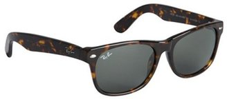 Ray-Ban brown tortoise acrylic 'New Wayfarer' sunglasses