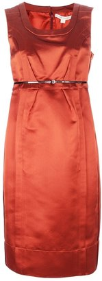 Marc Jacobs belted sleeveless dress