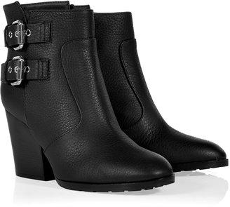 Giuseppe Zanotti Black Buckled Ankle Boots