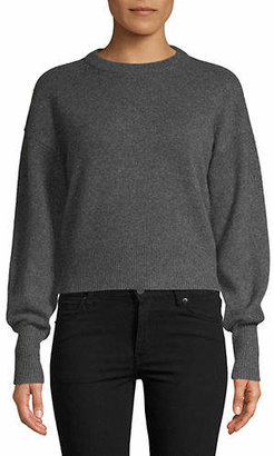 Theory Dropped Shoulder Cashmere Sweater