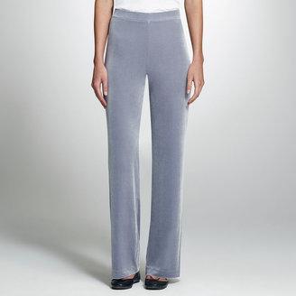 Jones New York Velvet Flared Pant