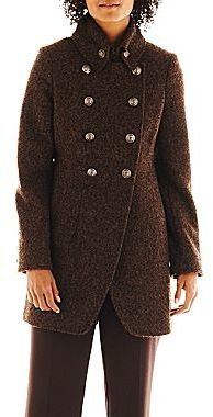 Collezione Cut-Away Tweed Military Coat
