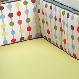 Bed Bath & Beyond SKIP*HOP® Mod Dot Solid Yellow Fitted Crib Sheet, 100% Cotton Sateen, 300 Thread Count