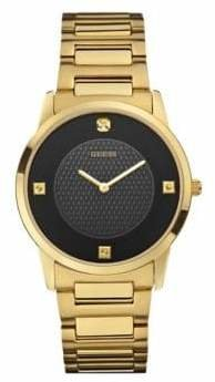 GUESS Analog Goldtone 39mm W0428G1 Stainless Steel Watch