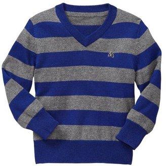 Gap Striped V-neck sweater