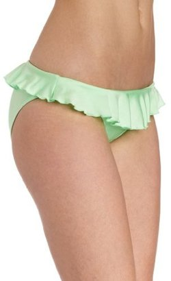 Seafolly Women's Shimmer Bikini Bottom with Frill