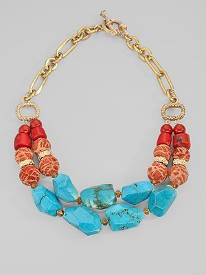 Stephen Dweck Chunky Two-Strand Necklace
