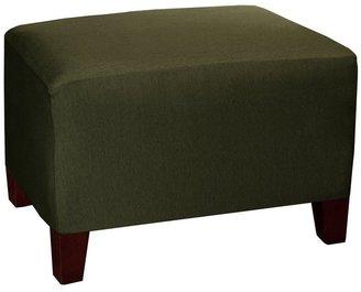Maytex Stretch Twill Ottoman Cover, Olive