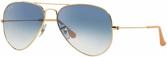 Ray-Ban Sunglasses, RB3025 58 AVIATOR GRADIENT $165 thestylecure.com