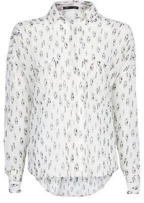 MANGO Arrow Printed Shirt