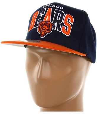 Mitchell & Ness NFL Throwbacks Arch w/Logo Tri-Pop Snapback - Chicago Bears (Chicago Bears) - Hats