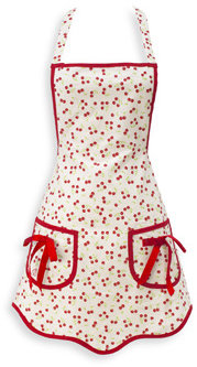Jessie Steele Cherries Hostess Apron